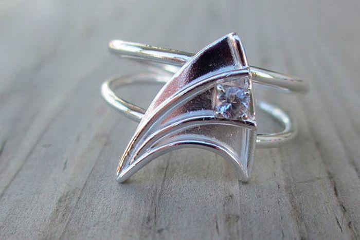 Кольцо по мотивам Star Trek диза, кольцо, креатив