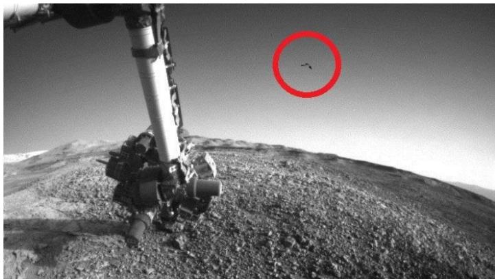 Аппарат НАСА запечатлел на М…