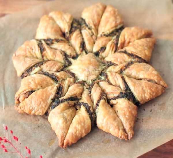Пирожки из теста слоеного бездрожжевого рецепт