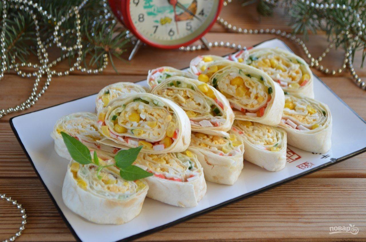 Самые вкусные начинки для лаваша пошаговый рецепт
