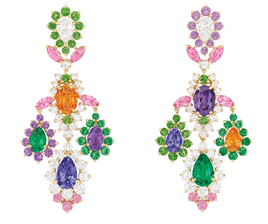 These Dear Dior earrings are one of the only two