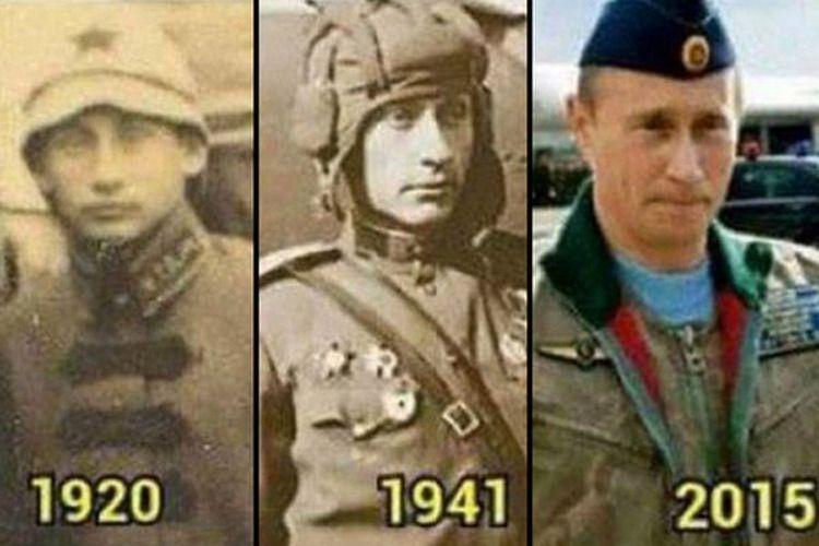 Картинки по запросу путинские двойники разных времен