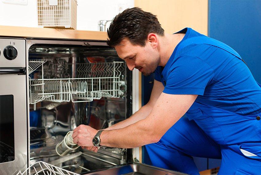 Ремонт посудомоечной машины своими руками и коды неисправностей ПММ