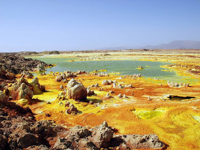 15 фото вулкана Даллол в Эфиопии