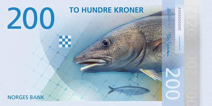 новые норвежские банкноты 13