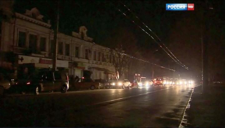 Крым больше не ждет электроэнергии с Украины