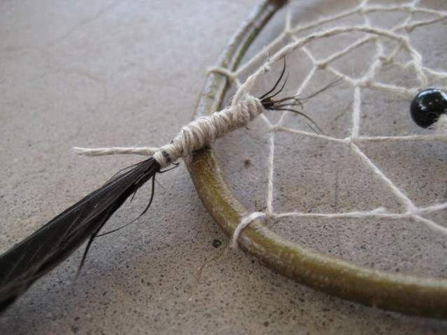 Мастер-класс: Индейский амулет Ловец снов