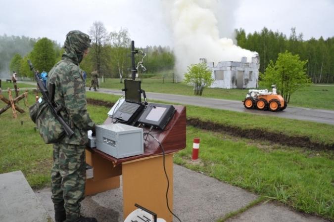 При поступлении в армию России боевые роботы будут сдавать нормативы