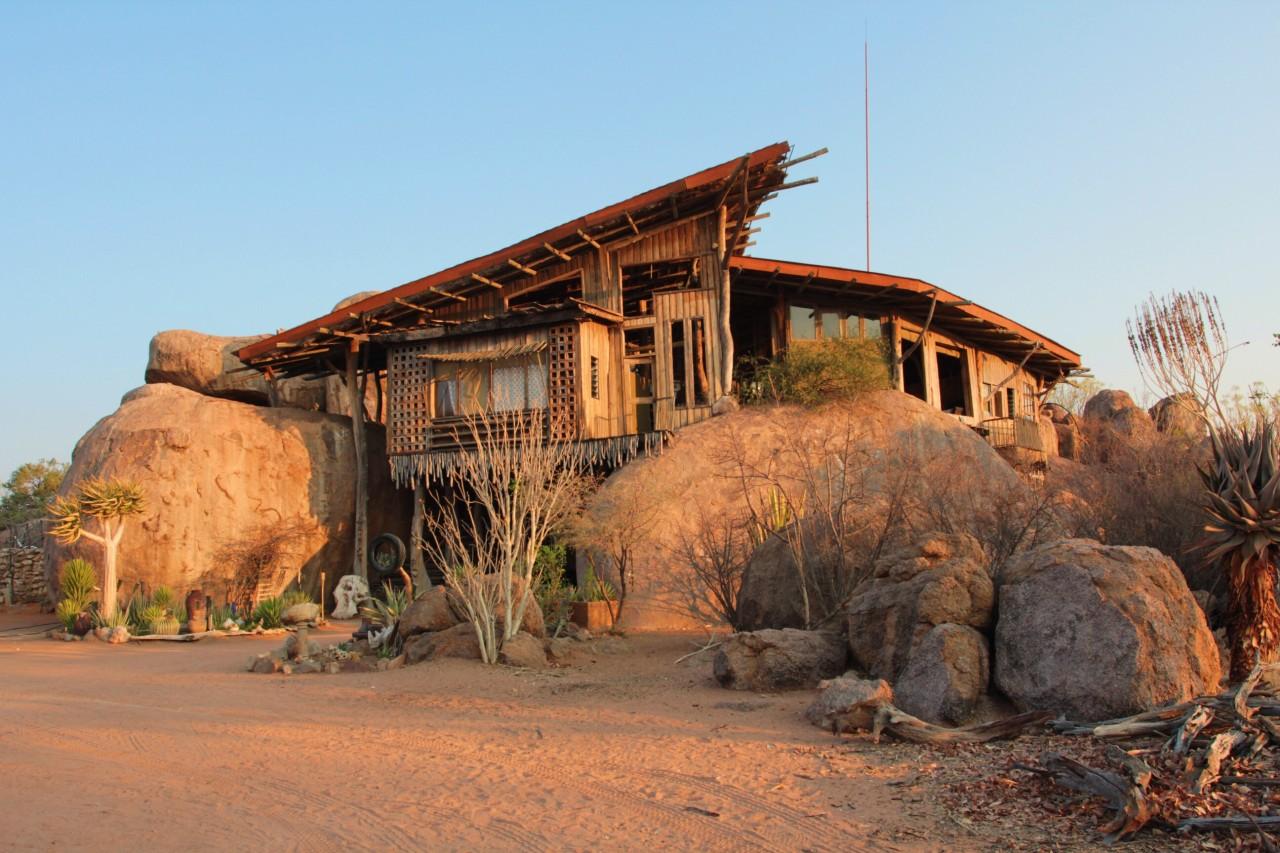 Дом на камнях. Намибия