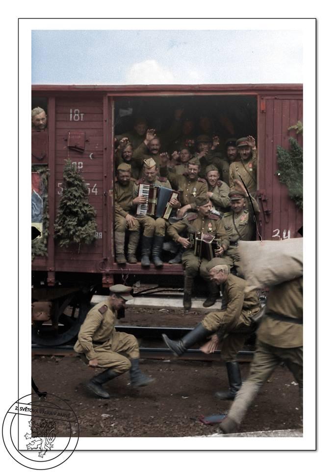 После войны. 1945-47 г.
