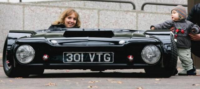 Самый низкий в мире автомобиль