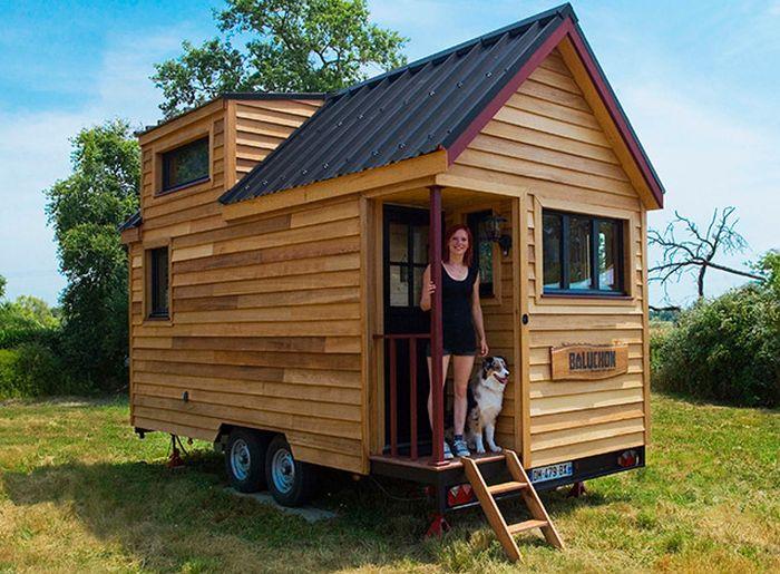Мобильные дома на колесах