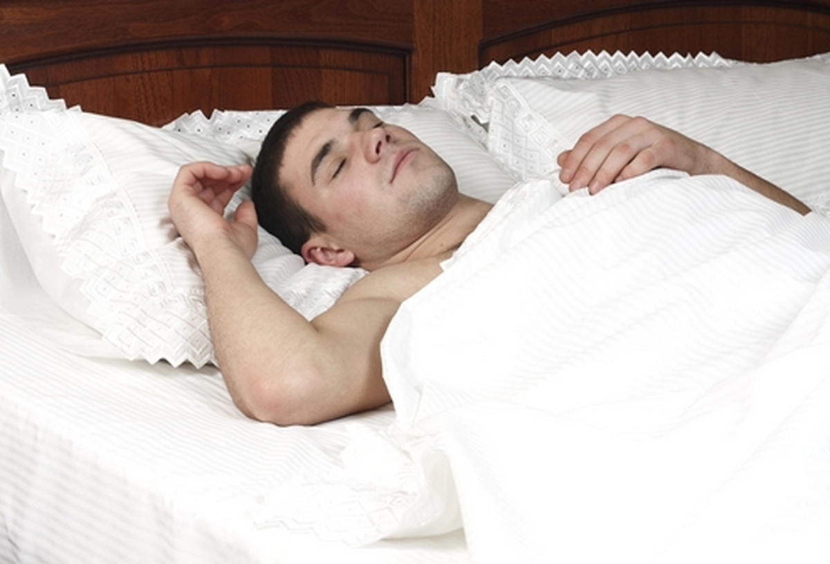 Задыхаешься во сне лежа на спине