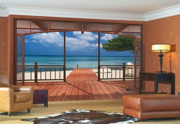 Квартира в остров Плака на берегу моря
