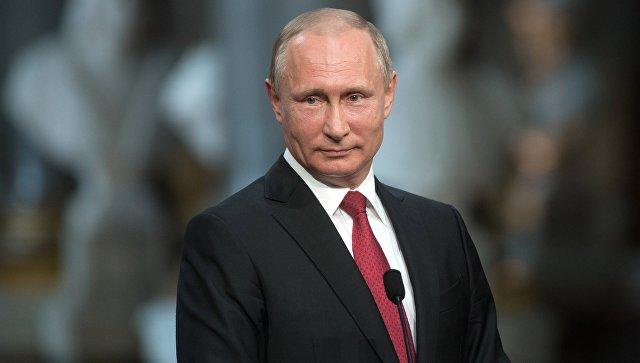 Владимир Путин рассказал, что унего есть внуки