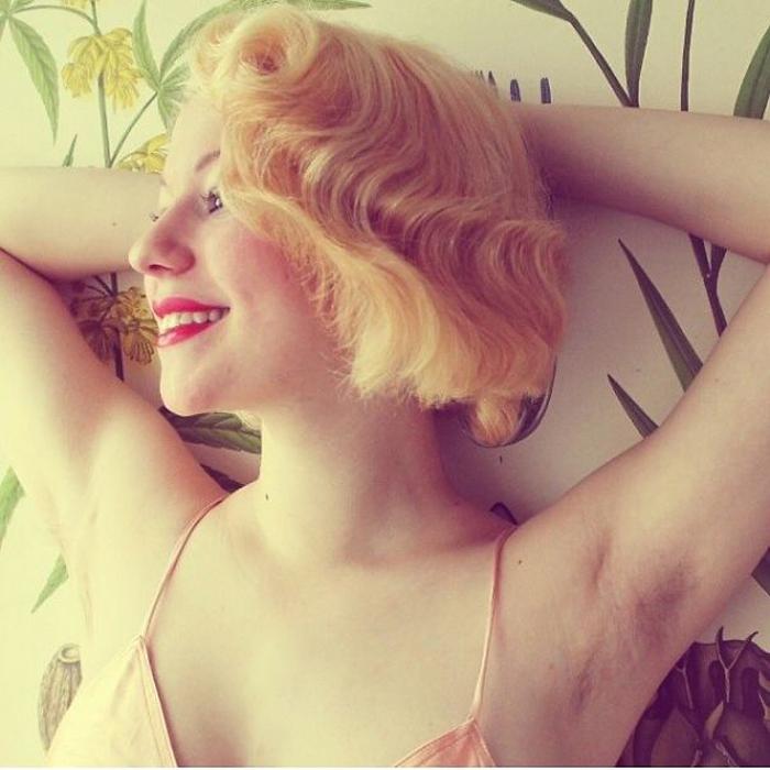Женщины считают волосы на теле естественными, а потому приемлемыми.