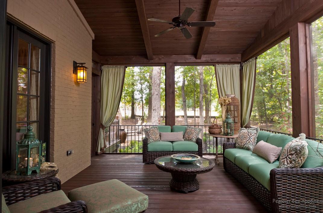Дизайн террасы к дому