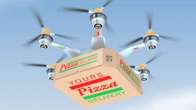 В Москве могут появиться курьеры-беспилотники, доставляющие пиццу и почту