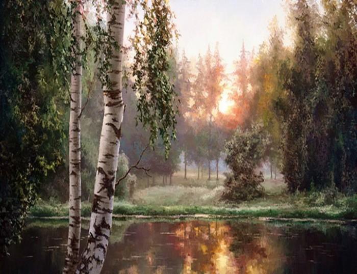 пейзажи Евгений Бурмакин -09