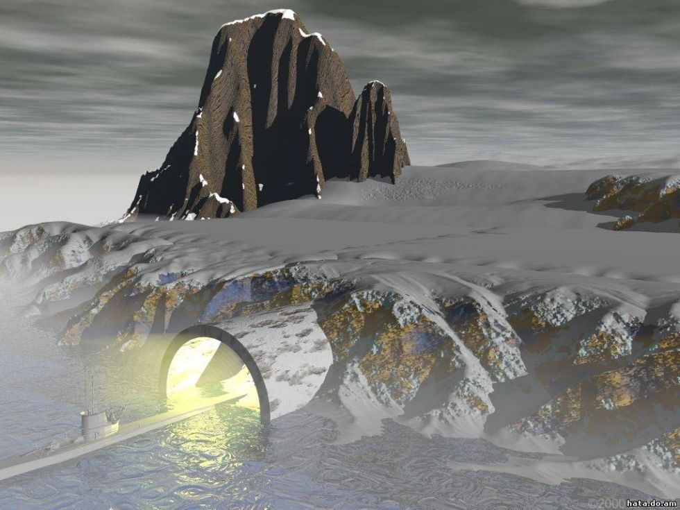 Экспедиция в Антарктиду, станция Герда и мертвая лодка нацистов