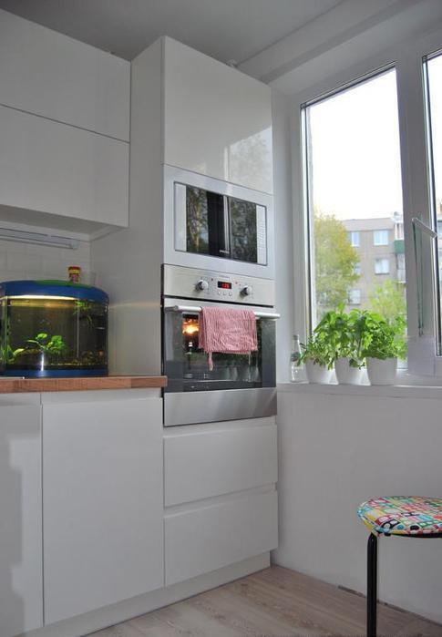 Угловая кухня в стиле модерн 9 кв метров в желтых и серых тонах: фото и дизайн интерьера
