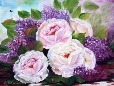 Изумительные цветы от Ilona …