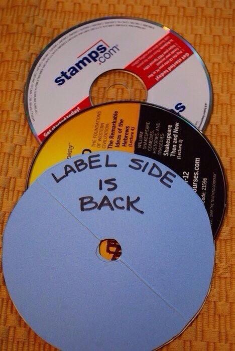 Подставки под горячее из дисков