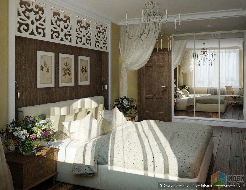 Реализация дизайн-проекта фото, интерьер спальни
