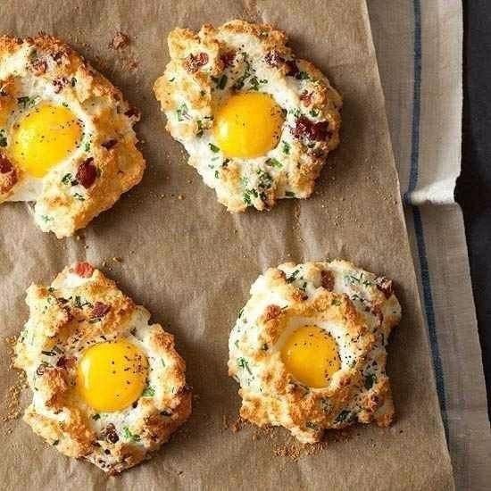 Как интересно приготовить яйца?