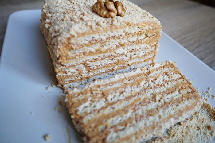 Торт без выпечки Рецепт, Видео, Торт без выпечки, Торт из печенья, Торт со сгущенкой, К чаю, Длиннопост