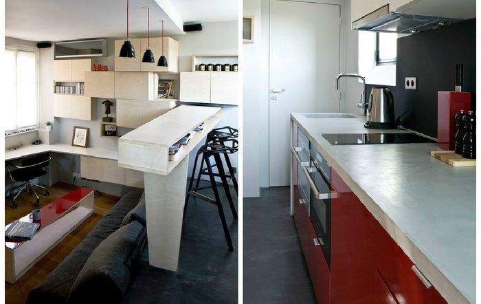 16 квадратных метров – уникальная квартира, в которой удалось разместить всё необходимое для жизни