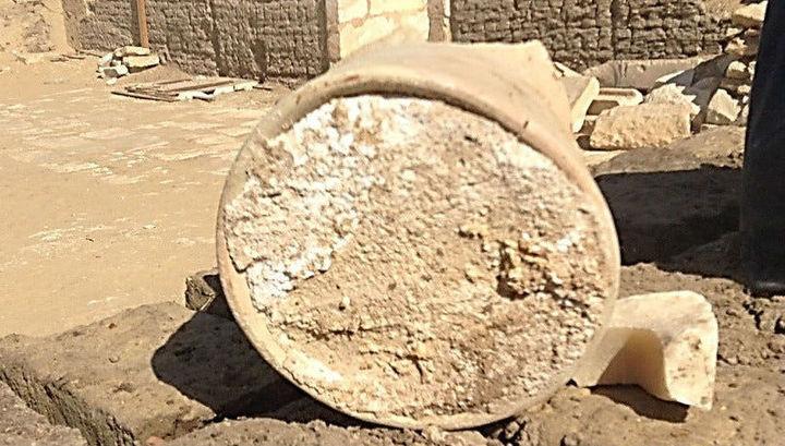 В египетской гробнице обнаружен самый древний сыр
