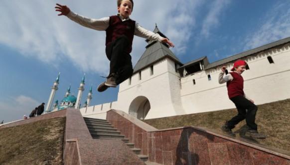 Красота казанская: редкие кадры и случайные моменты