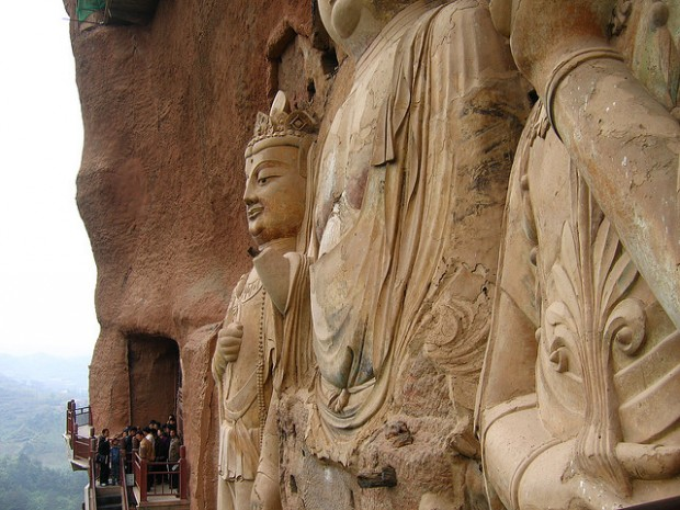 Пещеры Майцзишань – сокровище Китая