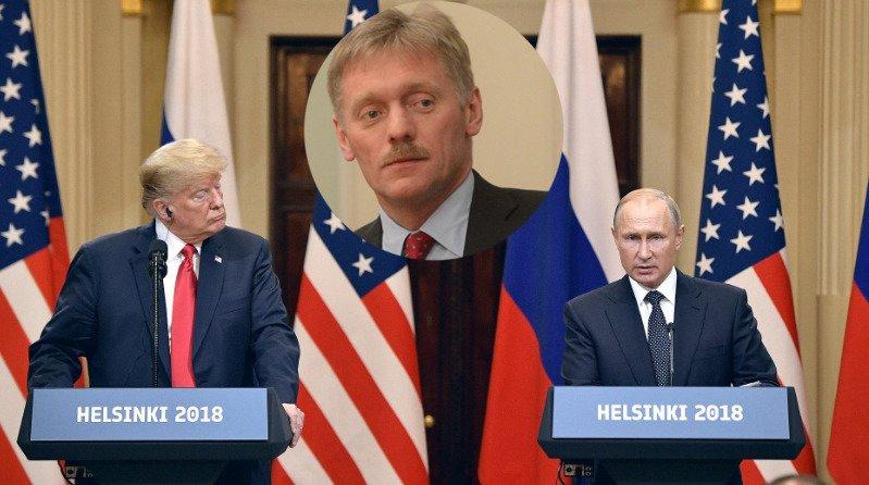 Песков рассказал, присутствует ли «химия» в отношении Путина и Трампа