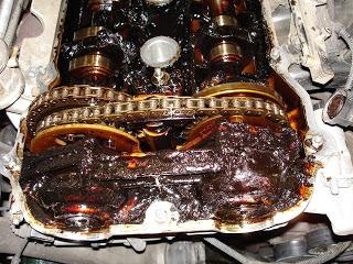 Замена масла по регламенту, или как убить двигатель.