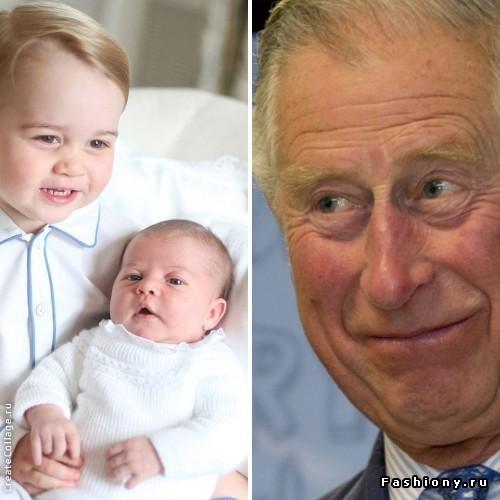 Счастливый дедушка Чарльз рассказал о своей идеальной принцессе Шарлотте