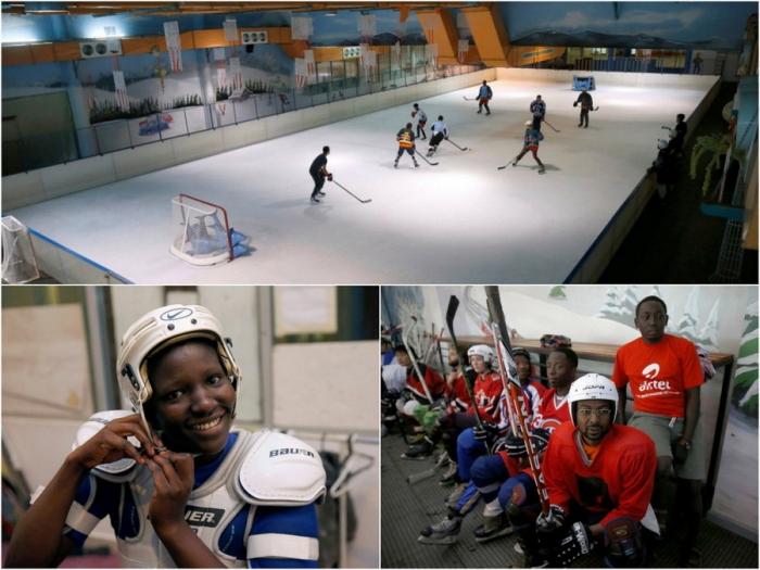 Хоккейная сборная Кении хоче…