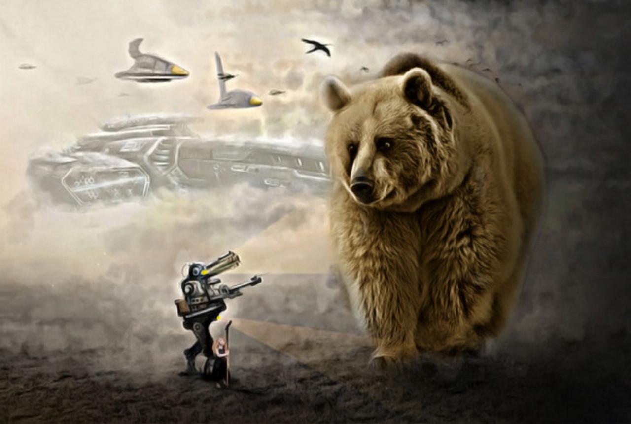 Русские медведи, гордые пшеки и тупые рогули