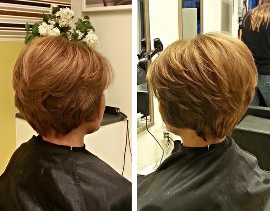 стрижки на короткие волосы