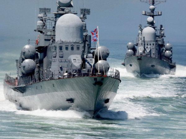 Российский флот перекрыл час…