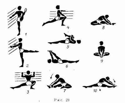 10 упражнений для шпагата