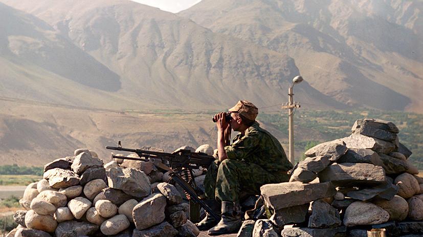 Российские войска спасли Таджикистан от исламистов.