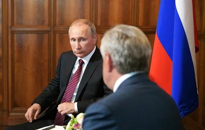 Путин обсудил с главой Абхазии безопасность российских туристов