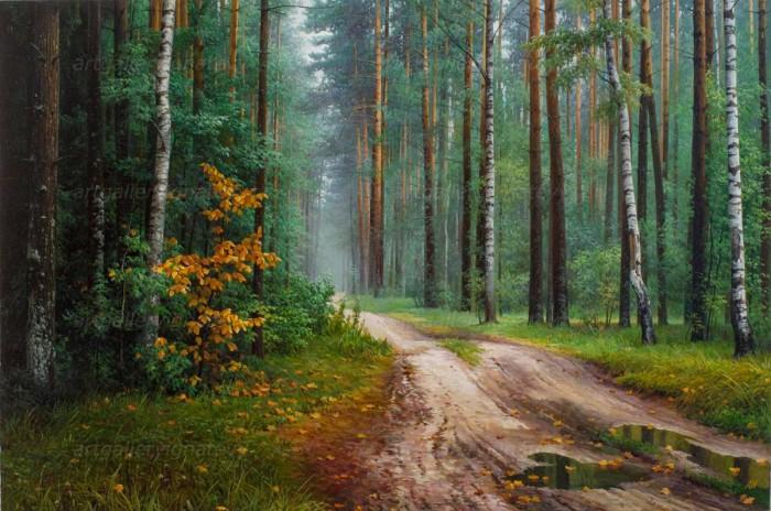 пейзажи художник Александр Игнатьев - 08