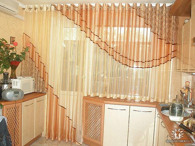 Как сшить красивую тюль и шторы