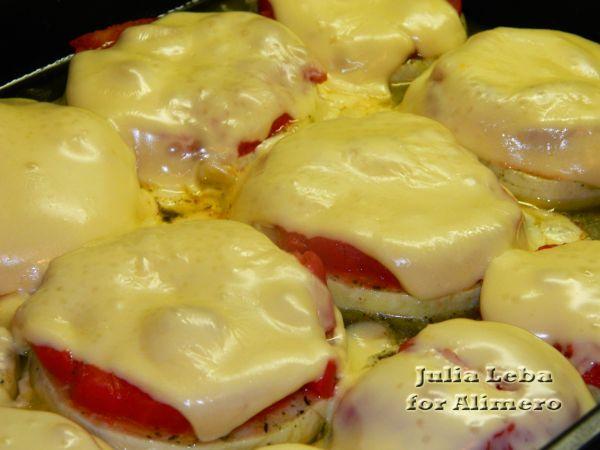 Мини-пицца на кабачке