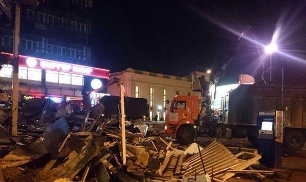 ВМоскве опровергли информацию обобрушении перехода на«Новослободской»