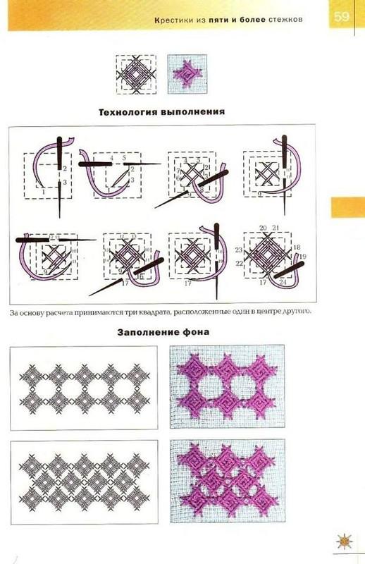 Как научиться вышивать крестиком: советы для 30
