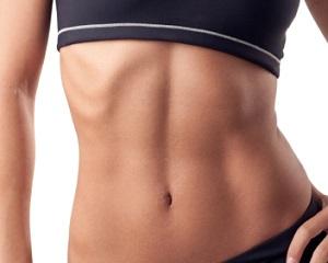 Легкая тренировка для мышц живота